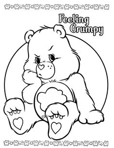 care bears coloring page                                                       …