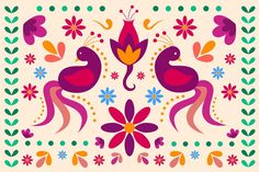 Discover thousands of free-copyright vectors on Freepik Design Plat, Style Floral, Mandala, Motif Floral, Mexican Folk Art, Wallpaper Downloads, Flower Wallpaper, Flyer Template, Stencils