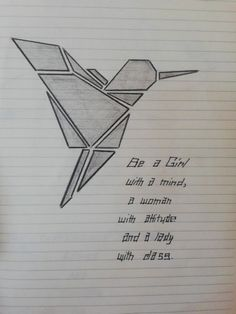 Discover thousands of images about ❤️Bird ~ Drawing ~ Cubism❤️ - Art Drawings Sketches Simple, Bird Drawings, Pencil Art Drawings, Easy Drawings, Drawing Quotes, Drawing Tips, Drawing Hands, Art Du Croquis, Cubism