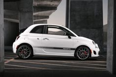 2013 Fiat 500 C Abarth Convertible - profile