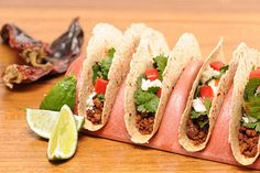 Think These Look Like Classic Ground Beef Tacos? Surprise! It's Tofu!