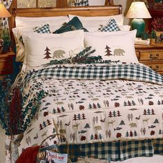 True Grit Comforter Bedding Set Various pattern - Full, Queen and King