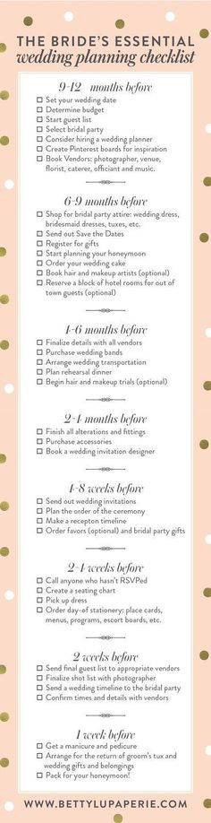 Take a look at the best wedding planning checklist in the photos below and get ideas for your wedding!!! How To Become a Wedding Planner, Tips for Becoming a Wedding Planner  #WeddingAdviceIdeasTips #weddingplannerbecominga
