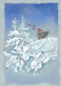 Kaarina Toivanen Christmas Mood, Christmas Images, Christmas 2019, Christmas Cards, Merry Christmas, Christmas Decorations, Xmas, Winter Illustration, Christmas Paintings