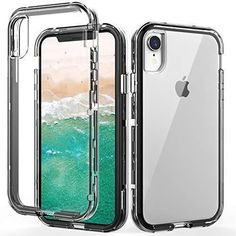 - Navy Blue Tempered Glass Screen Protector TORRAS iPhone X Case Hard Plastic Protective Matte Phone Cover Case for iPhone X iPhone XS Case // iPhone XS 2017 2018 Ultra Thin Slim Case with