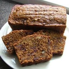 Date and nut loaf cake @ allrecipes.co.uk