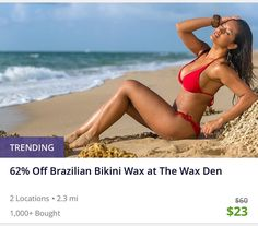 What's #trending ? WE ARE Thank you for your support. #groupon is for first time guests. Share with a friend. #thewaxden #bloomfield #nutley #waxing #noshaving #pfb #brazilianwax