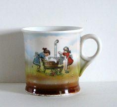 1940s CHILDS Cup Mug GERMANY