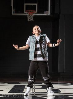 Frankie Signorelli, 12, of The Brooklyn Nets Kids (photo by Erin Baiano for Dance Spirit)