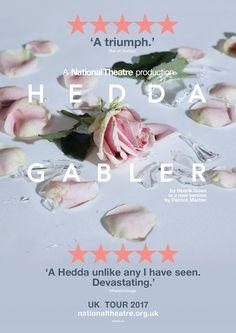 Hedda Gabler UK Tour activation 2017-18 for National Theatre Productions.