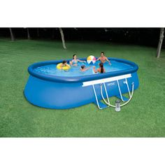 1000 images about pool ideas on pinterest pool for Intex pool angebote
