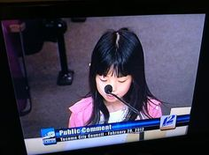 This 8-year-old just addressed the City Council, and asked them to spend more money on education!