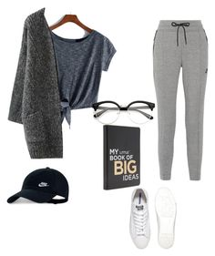 """""""Stay at home Outfit"""" by favouro on Polyvore featuring NIKE and Converse"""