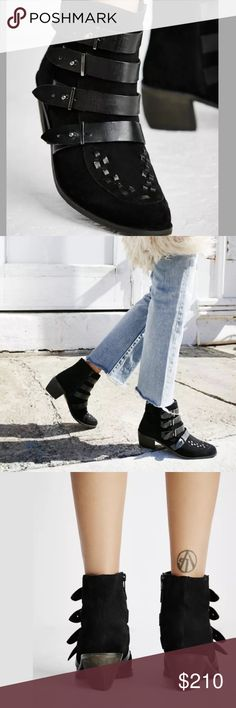 Free People Suede Ankle Boots NWB NWT. Size Euro 38 which is US Size 8 Free People Shoes Ankle Boots & Booties