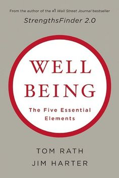 This book is filled with fascinating research and novel ideas for boosting your wellbeing in each of the five essential elements of wellbeing: Career Wellbeing, Social Wellbeing, Financial Wellbeing, Physical Wellbeing, and Community Wellbeing.
