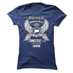 CONNECTICUT Girl CT-HI cifv T Shirt, Hoodie, Sweatshirts - shirt design #teeshirt #hoodie