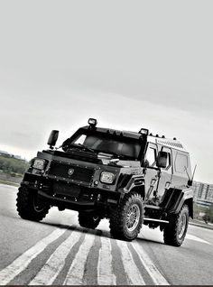 10 Armored Cars That Will Blow Your Mind. Meet the Knight CV - the most Badass SUV on the planet! #spon #autoawesome