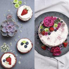 My Red Velvet L.O.V.E.  meine erste Ehrfahrung mit dem besagten Kuchen von der lieben Jeanny von Zucker, Zimt und Liebe.