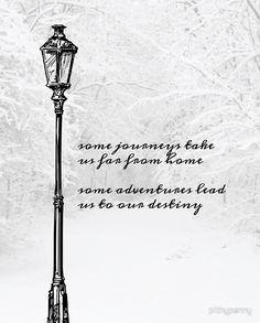 Narnia Lamp Post by 5pennystudio