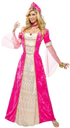 Renaissance Sweetheart Adult Costume - Womens Medium (8-10) - Click image twice for more info - See a larger selection of Women Medieval Renaissance Costumes at http://costumeriver.com/product-category/womens-medieval-renaissance-costumes/  - women, halloween costumes, halloween fashion , classic costume, holidays, event, trick or treat , gift ideas, costumes, disguise.