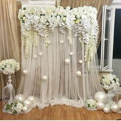 50 Amazing Wedding Backdrop (10)