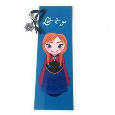 Marcapáginas Kokeshi Anna de Frozen