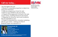 RE/MAX Marketing Flyer