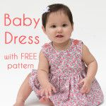 Sew a Baby Dress with FREE Pattern