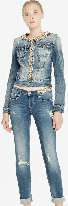 denim outfit fracomina.it
