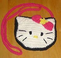 Crochet Cat Purse