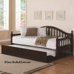 Day Bed Kayu Jati Minimalis Sorong