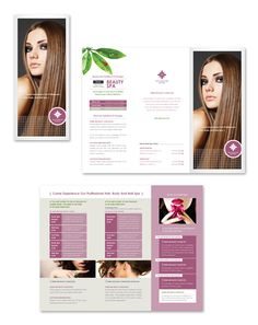Spa Beauty Centre Tri Fold Brochure Template HttpWwwDlayouts