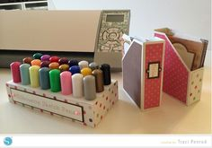 Organizing your Scrapbook Room #Silhouette