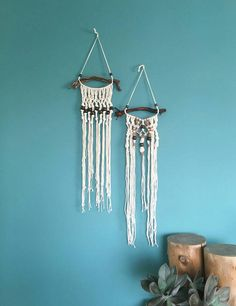 Check out this item in my Etsy shop https://www.etsy.com/uk/listing/280336468/macrame-wall-hanging-set-of-2-bohemian