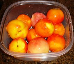 How to Make Peach Pie Filling - Easily! With Step-by-step Photos, Recipe, Directions, Ingredients and Costs