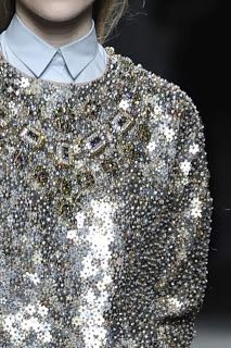 up-close and personal with sequins