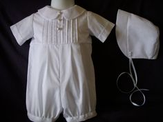 Baby Reborn/Boy Christening Gown/ Baptism Outfit Romper Size NB 3 6 12 Months on Etsy, $54.99