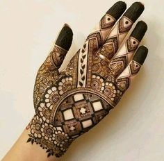121 Simple mehndi designs for hands Easy Henna patterns with Images Bling Sparkle Khafif Mehndi Design, Latest Bridal Mehndi Designs, Full Hand Mehndi Designs, Henna Art Designs, Mehndi Designs For Beginners, Modern Mehndi Designs, Mehndi Designs For Girls, Mehndi Design Pictures, Wedding Mehndi Designs