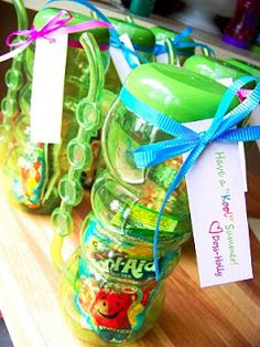 """Send off your little one's classmates with an end of year gift that reminds them to have a """"kool"""" summer! Click the pin for instructions and more fun End of School treats from our Just Kidding Around Tab! End Of Year Party, End Of School Year, School Fun, School Stuff, School Games, Sunday School, School Holidays, School Teacher, Pre School"""