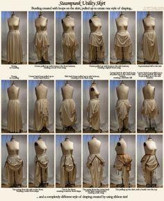 Steampunk Utility Skirt by Taeliac - awesome design