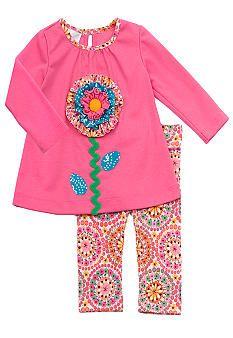 Rare Editions Big Flower Set Toddler Girl #belk #kids