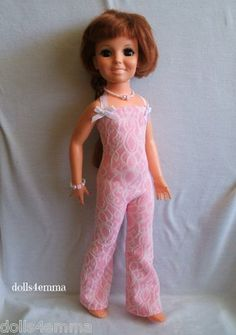 * PLAYDATE * - Jumpsuit and Jewelry Set for Crissy dolls.   $18.00 eBay