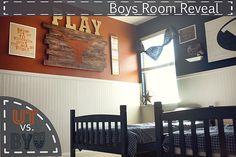 Boys Room Reveal: UT vs. BYU