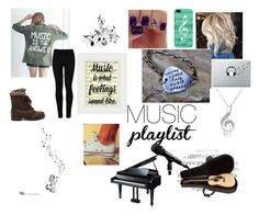 """Music is life"" by beauty-bomb-22 on Polyvore featuring Wolford, Casetify and Music Notes"