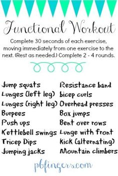 HIIT workout: Functional Movements!