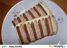 Rychlé Bebe řezy recept - TopRecepty.cz Hot Dog Buns, Hot Dogs, Czech Desserts, French Toast, Dessert Recipes, Pie, Sweets, Bread, Breakfast