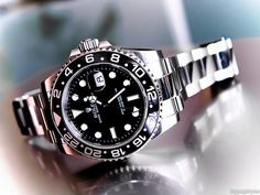 In some cases part of that image is the quantity of money you invested to use a watch with a name like Rolex on it; it is no secret how much watches like that can cost. Men's Watches, Dream Watches, Sport Watches, Cool Watches, Black Watches, Omega, Rolex Tudor, Silver Pocket Watch, Rolex Gmt Master