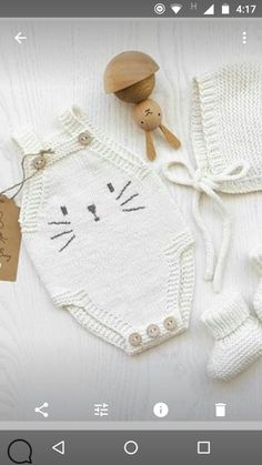 - Patrones Diy , Amigurumis G Knitting For Kids, Baby Knitting Patterns, Knitting Projects, Hand Knitting, Crochet Patterns, Tricot Baby, Baby Pullover, Knitted Baby Clothes, Crochet Bebe