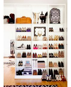 Pinterest round up: How to organise your shoes to be the envy of shoe lovers everywhere