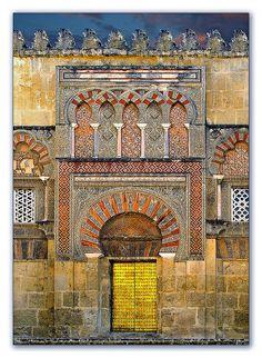 The great Cathedral-Mosque   La gran Mezquita-Catedral    Córdoba - Andalucia - España